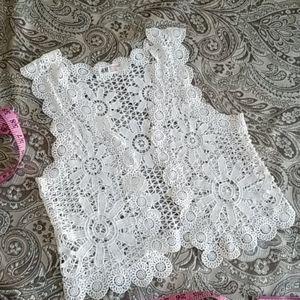 3/$25 Firm H&M Crochet Crop Top Vest For Girl's